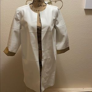 Beautiful Chicos Faux Leather Jacket